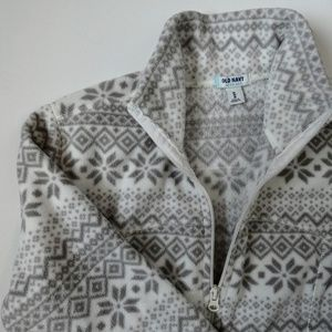 Cozy Snowflake Fleece from Old Navy